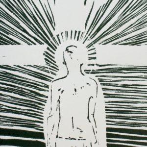 Jezus, de Gekruisigde - hoogdruk Davitha 2017