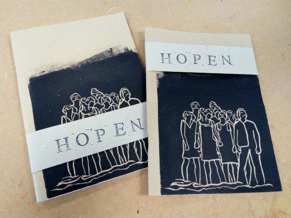 Bidboekje verwachting (limited edition) Soft cover, blanco papier