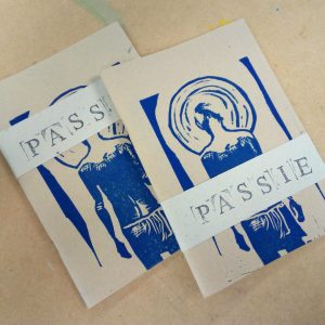 Bidboekje passie (limited edition) Soft cover, blanco papier